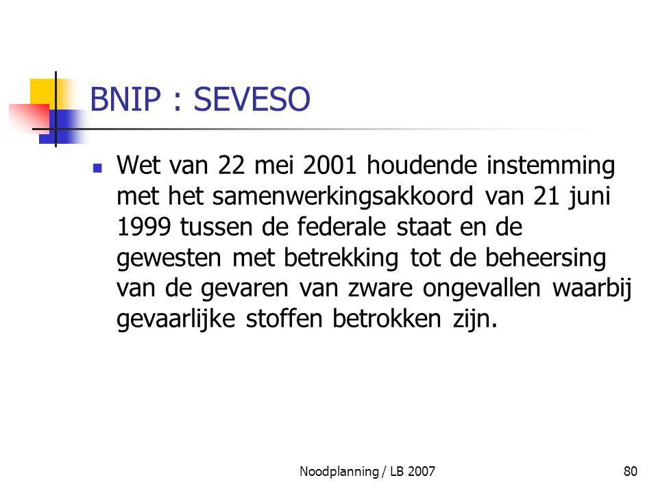 BNIP : SEVESO