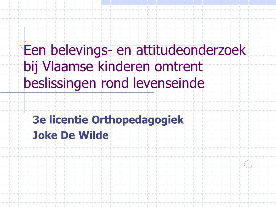 3e licentie Orthopedagogiek Joke De Wilde