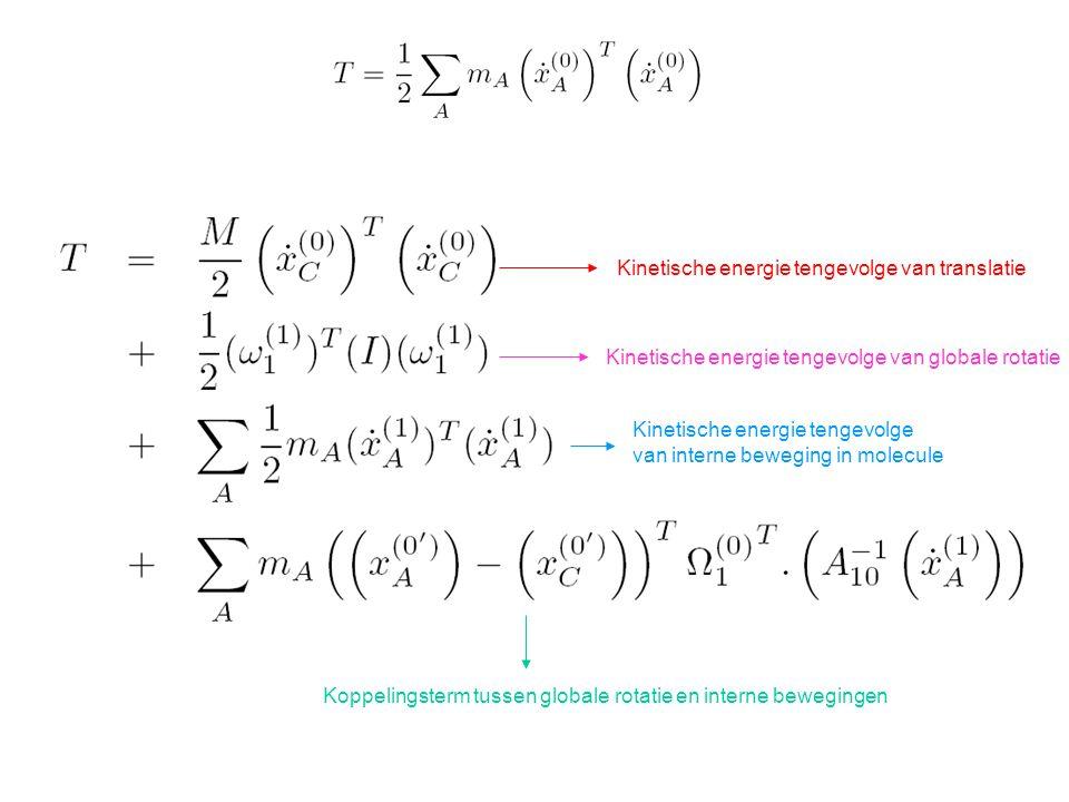 Kinetische energie tengevolge van translatie