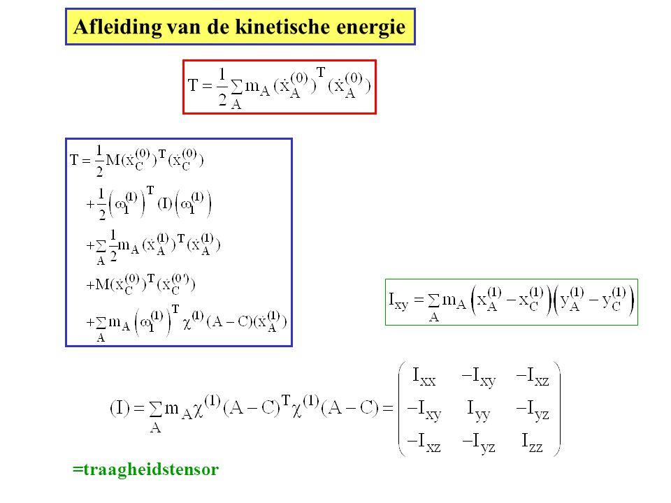 Afleiding van de kinetische energie
