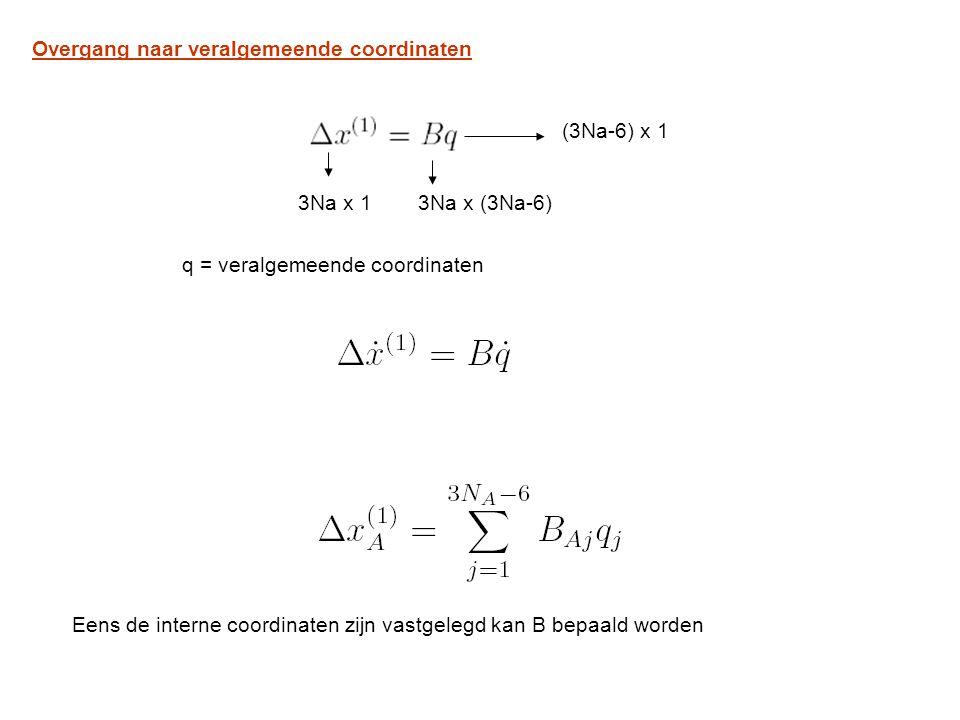 Overgang naar veralgemeende coordinaten