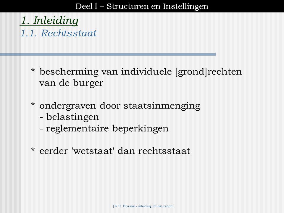1. Inleiding 1.1. Rechtsstaat