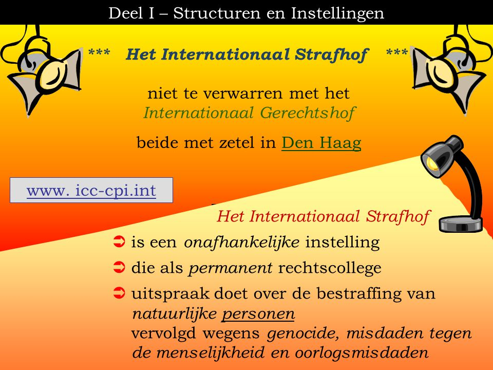 *** Het Internationaal Strafhof ***