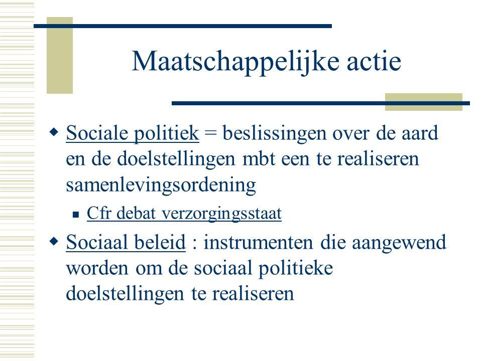 Maatschappelijke actie