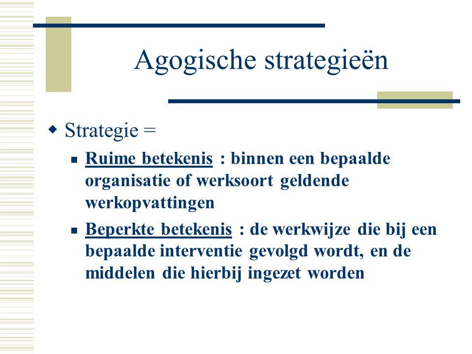 Agogische strategieën