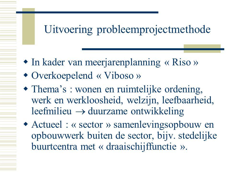 Uitvoering probleemprojectmethode