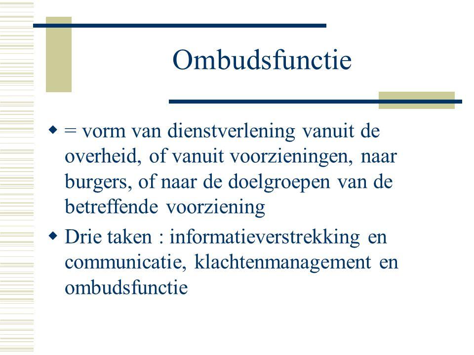 Ombudsfunctie