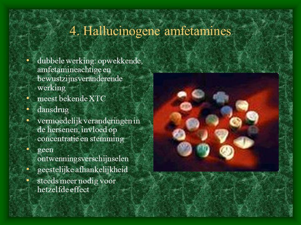 4. Hallucinogene amfetamines