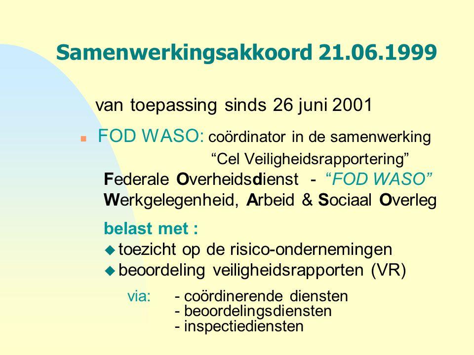 Samenwerkingsakkoord 21.06.1999