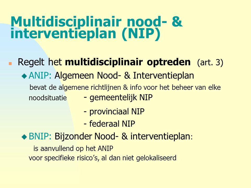 Multidisciplinair nood- & interventieplan (NIP)