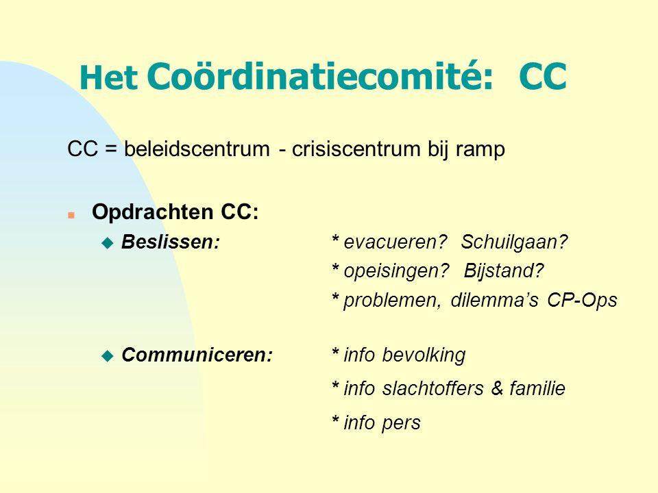 Het Coördinatiecomité: CC