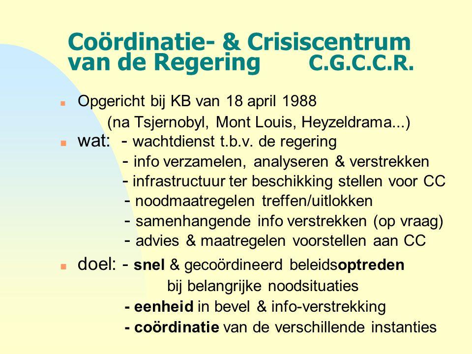 Coördinatie- & Crisiscentrum van de Regering C.G.C.C.R.