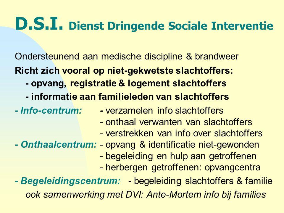D.S.I. Dienst Dringende Sociale Interventie
