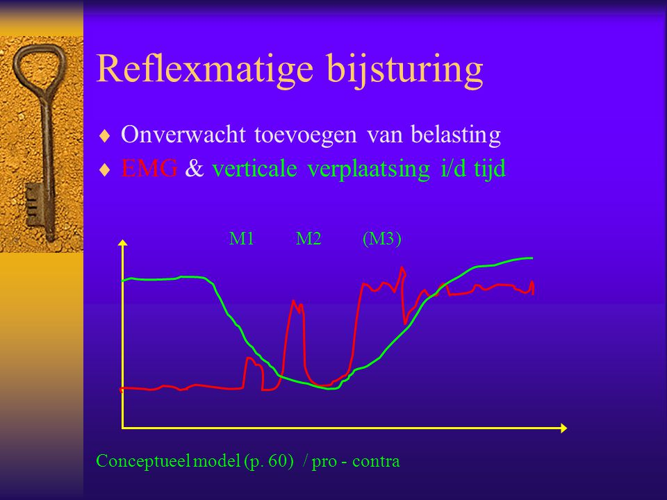 Reflexmatige bijsturing