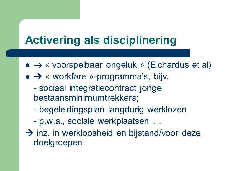 Activering als disciplinering