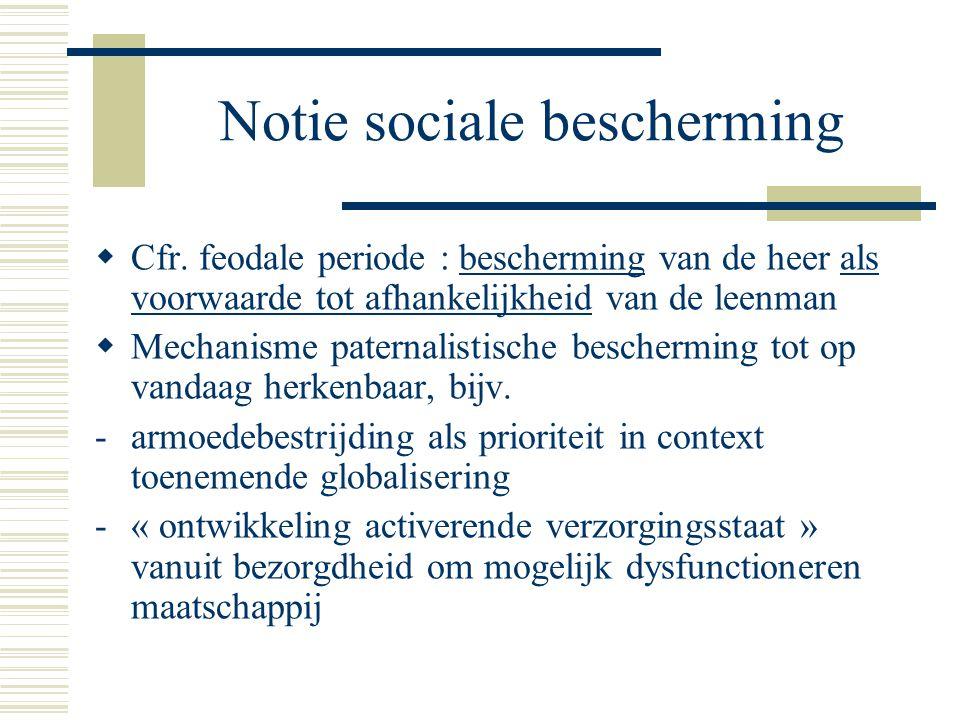Notie sociale bescherming