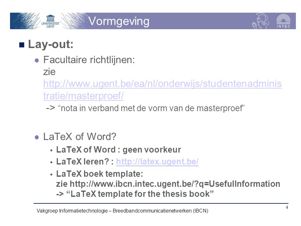 Vormgeving Lay-out: