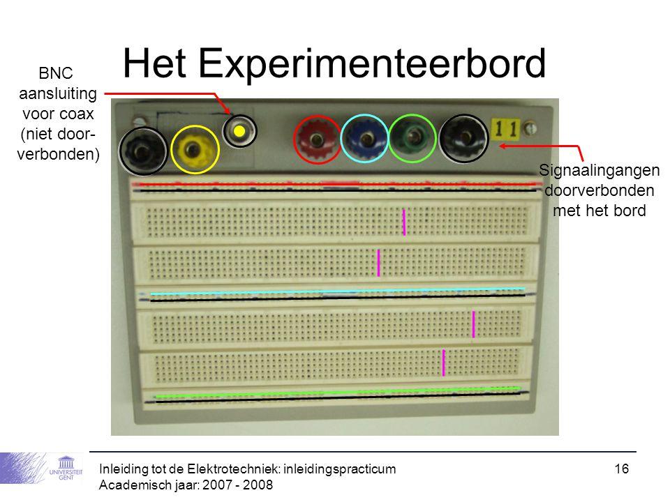 Het Experimenteerbord