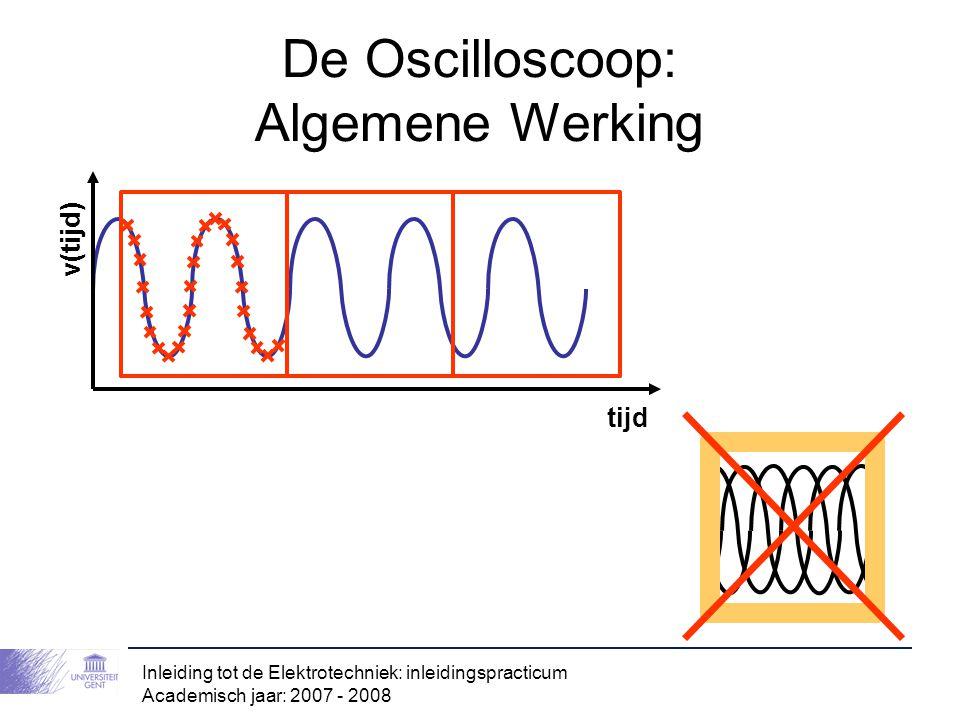 De Oscilloscoop: Algemene Werking