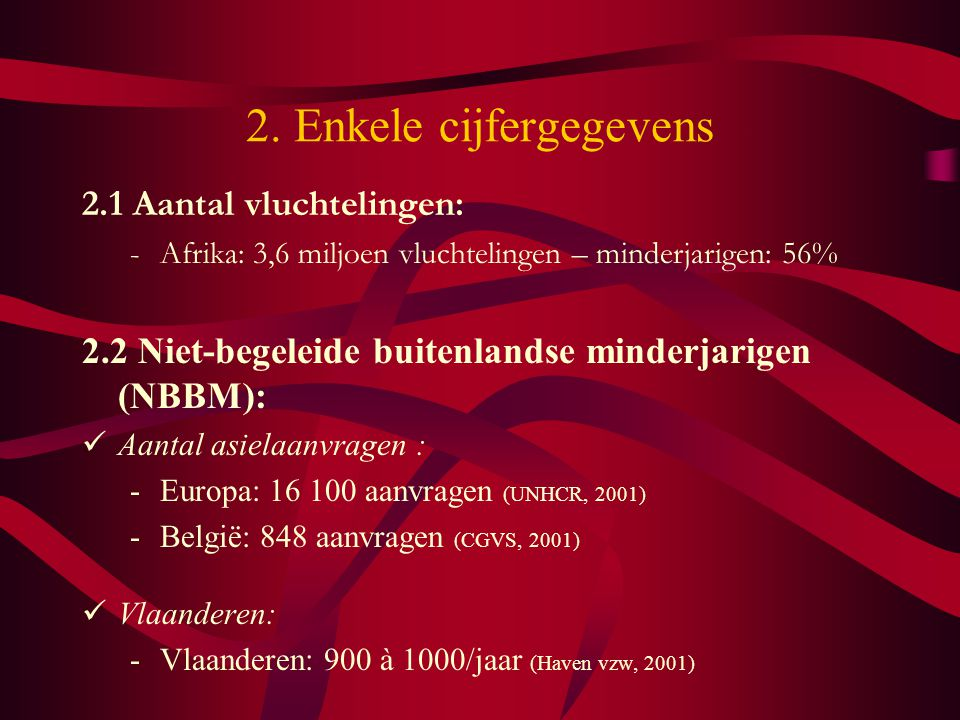 2. Enkele cijfergegevens