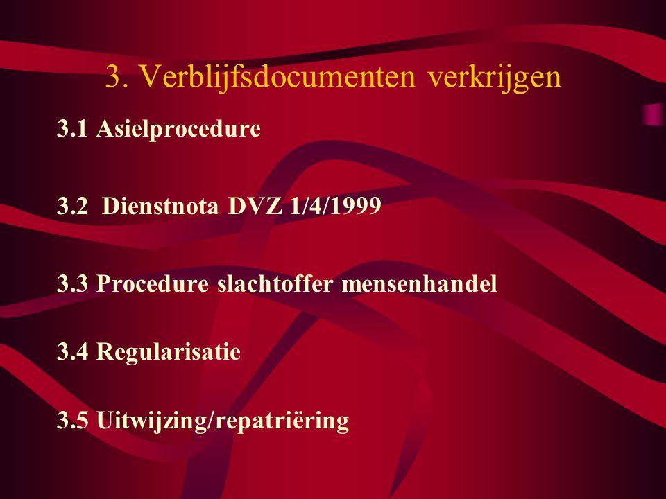 3. Verblijfsdocumenten verkrijgen