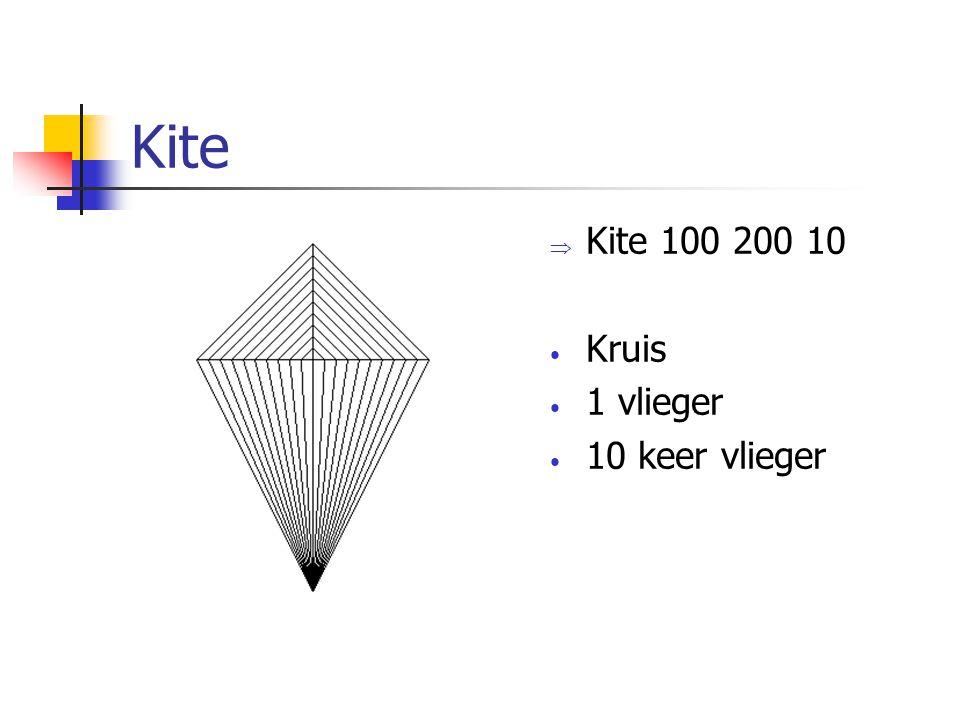 Kite Kite 100 200 10 Kruis 1 vlieger 10 keer vlieger