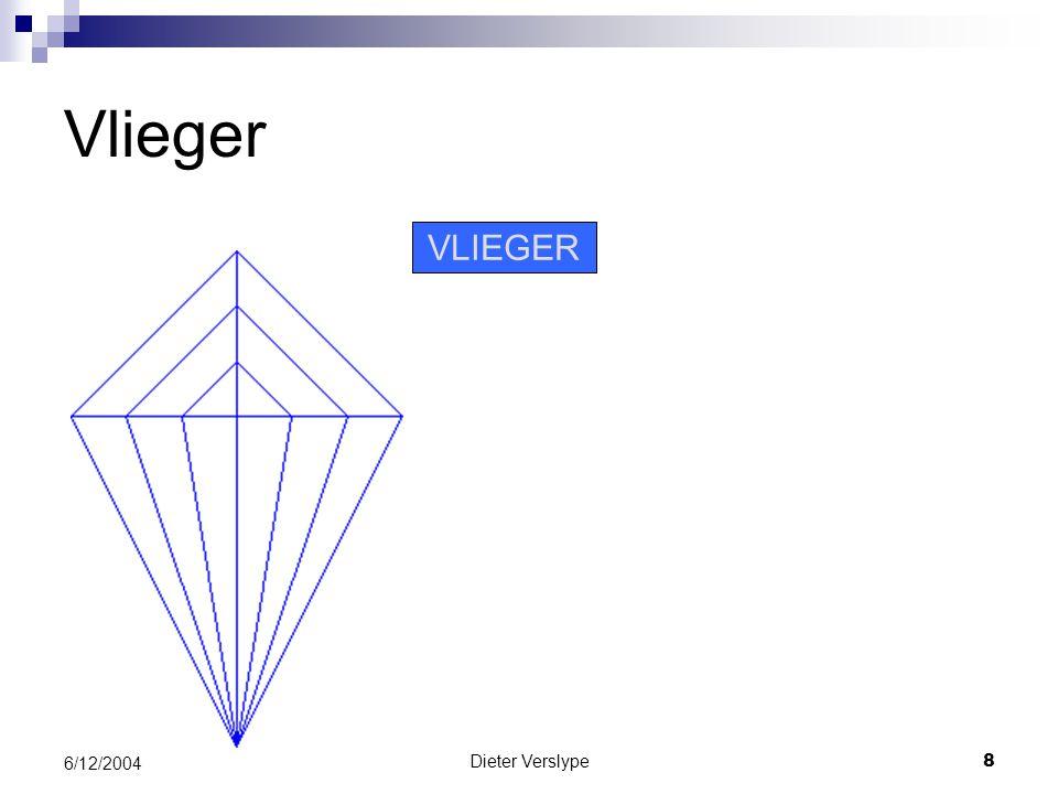 Vlieger VLIEGER 6/12/2004 Dieter Verslype