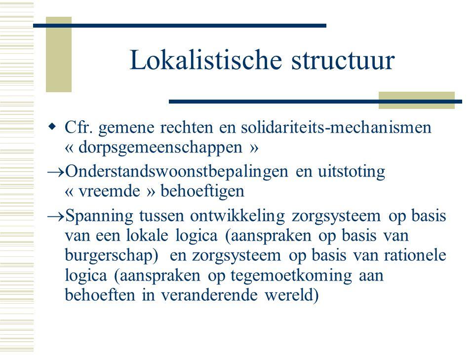 Lokalistische structuur