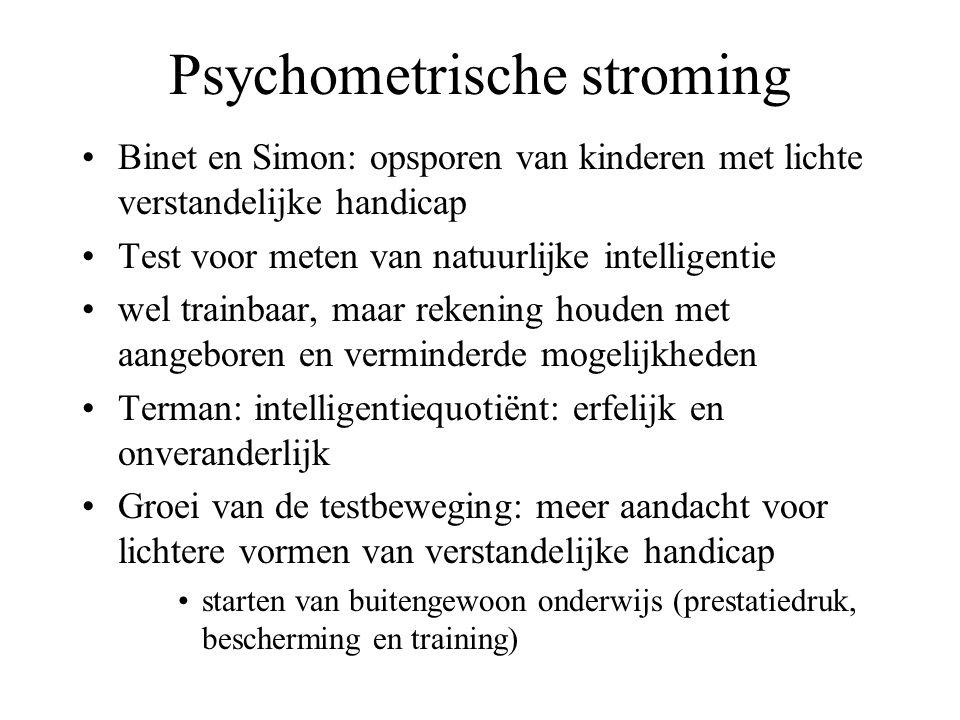 Psychometrische stroming