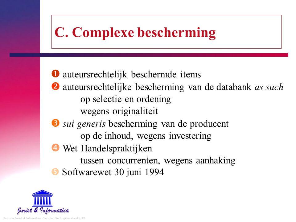 C. Complexe bescherming