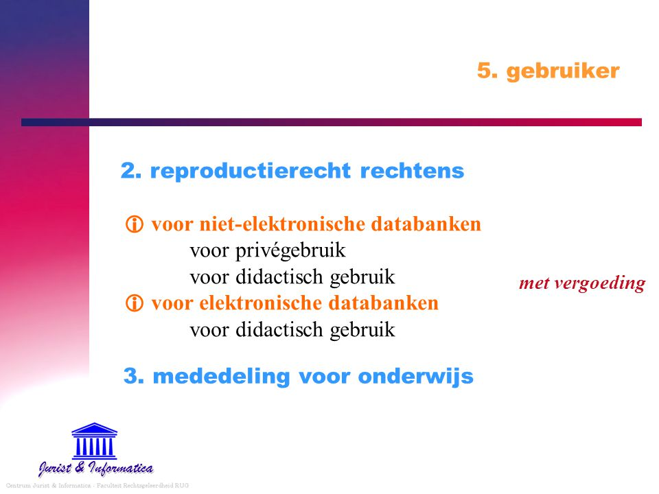 2. reproductierecht rechtens