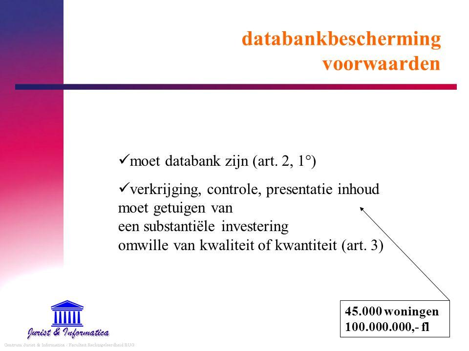 databankbescherming voorwaarden