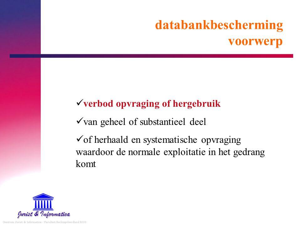 databankbescherming voorwerp