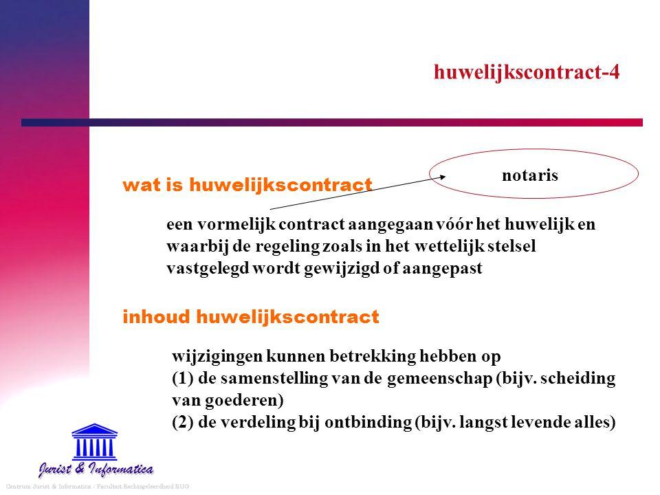 huwelijkscontract-4 notaris wat is huwelijkscontract