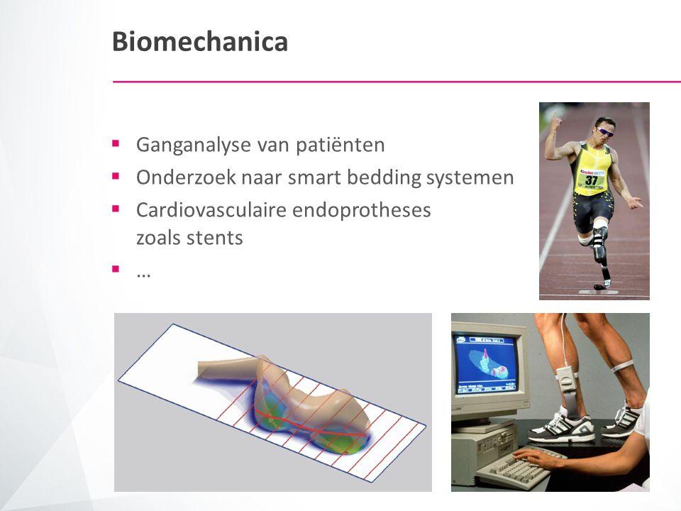 Biomechanica Ganganalyse van patiënten