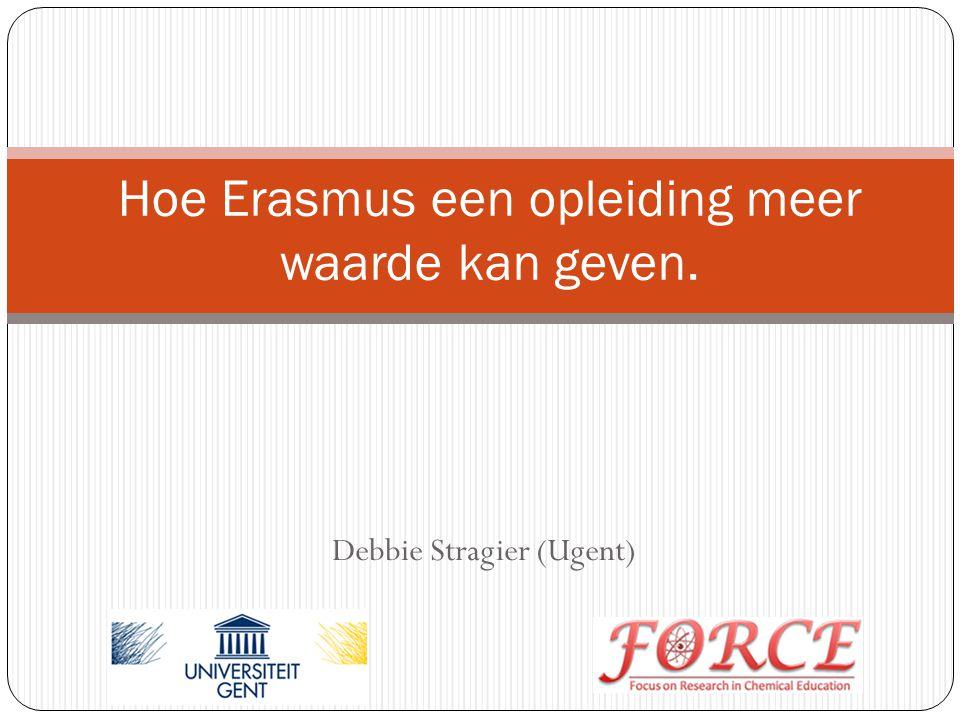Hoe Erasmus een opleiding meer waarde kan geven.