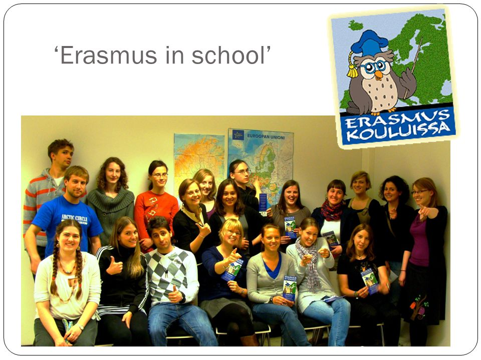 'Erasmus in school'