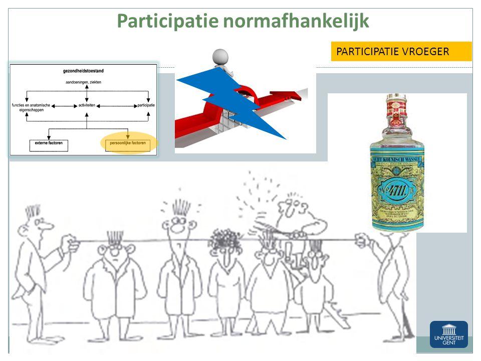 Participatie normafhankelijk
