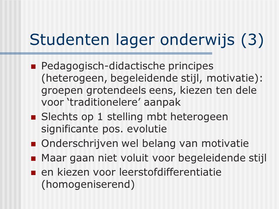 Studenten lager onderwijs (3)