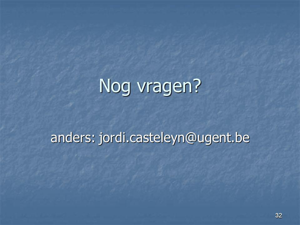 anders: jordi.casteleyn@ugent.be