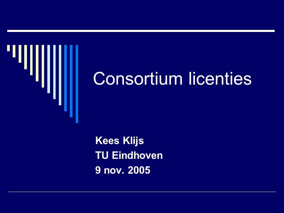 Kees Klijs TU Eindhoven 9 nov. 2005