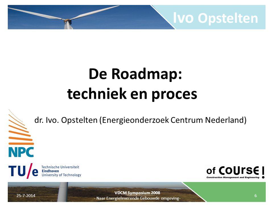Ivo Opstelten De Roadmap: