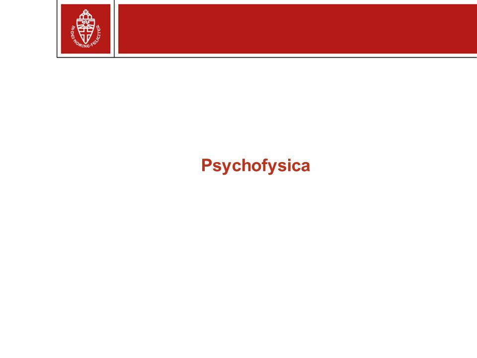Psychofysica