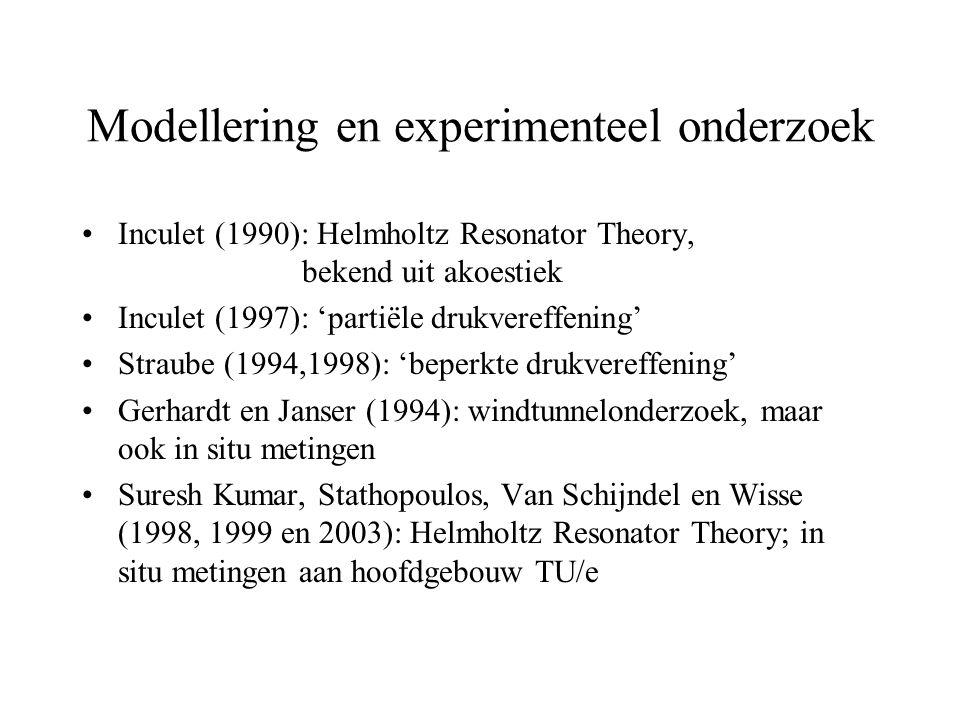 Modellering en experimenteel onderzoek