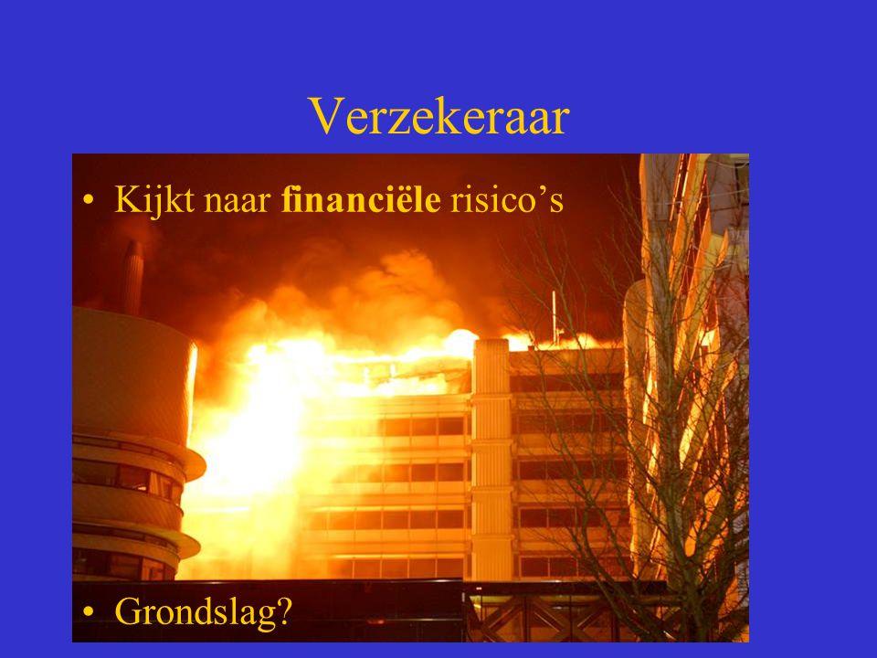 Verzekeraar Kijkt naar financiële risico's Grondslag
