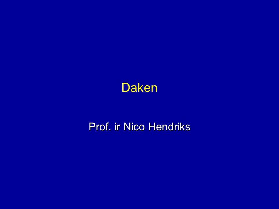 Daken Prof. ir Nico Hendriks
