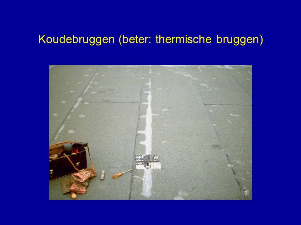 Koudebruggen (beter: thermische bruggen)