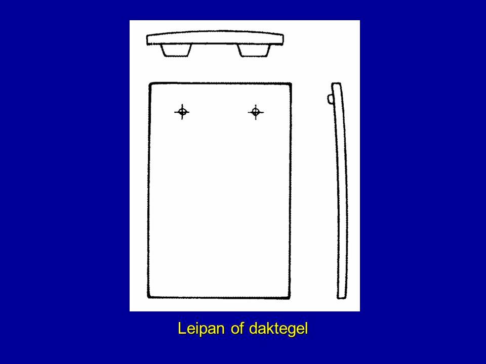 Leipan of daktegel