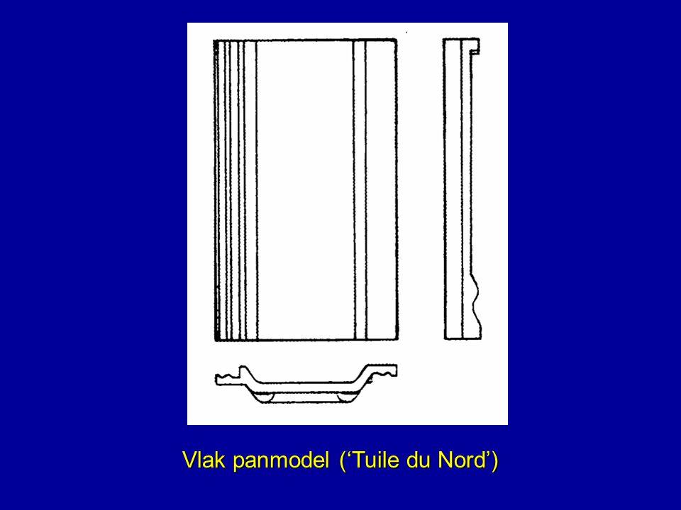 Vlak panmodel ('Tuile du Nord')