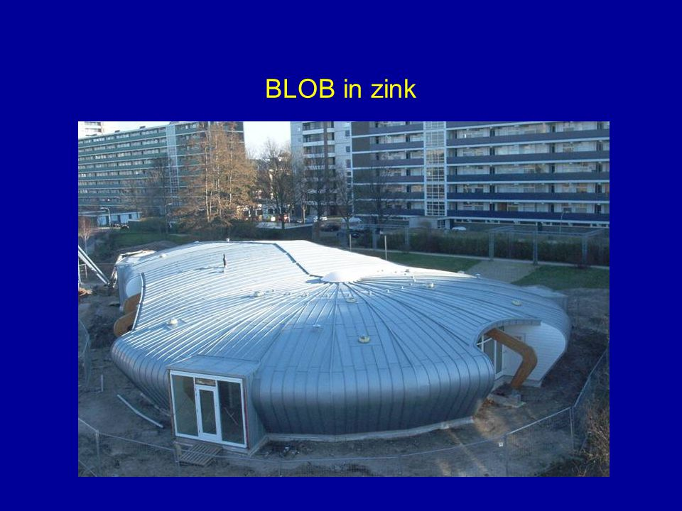 BLOB in zink